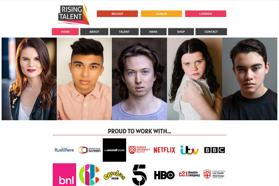 Telford Media - Rising Talent Agency
